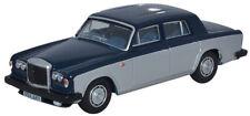 Oxford 76BT2004 Bentley T2 Saloon Seych.Blue/Shell Grey 1/76th 00 Gauge T48 Post