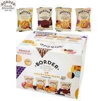 Border Family Biscuits 48 Luxury Mini Packs in 4 Varieties 2 Cookies Each Packet