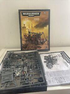 GW Warhammer 40K Magnetised Plastic Ork Trukk Only partially Made, Unpainted