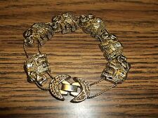 To Be For Younger Girls Vintage Small Child'S Elephant Bracelet-Looks