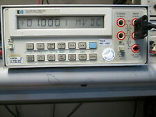 Hp 3478a Multimeter Accurate Measurements Labview Supported Programming
