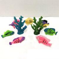 3Pcs Random Artificial Coral Model Ornament Decoration for Aquarium Fish Tank_SE