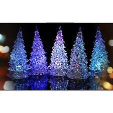 Ice Cristal Noël Christmas Xmas LED Lampe de Table Décoration Light Lumière