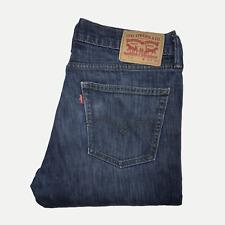Levis 511™ 36 32 Mens Jeans Slim Fit Dark Wash Blue Denim ENGINEERED