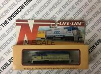 Life-Like N Scale Locomotive 7848 GP-38 Delaware and Hudson #7301