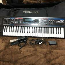 Roland Juno-Di Portable 61-key Synth Synthesizer Keyboard Tested W/ Pedal Cable