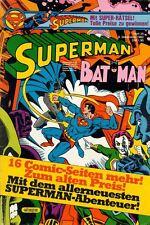 Selección de: Superman Batman PROMOClÓN 1982/13 cuadernos: 1-13/rar! Ehapa