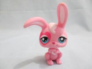 Littlest Pet Shop Pink Bunny Rabbit 1966 Authentic