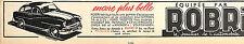 PUTEAUX FORD VEDETTE ROBRI PETITE PUBLICITE 1943