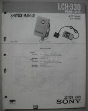 SONY LCH-330 Service Manual