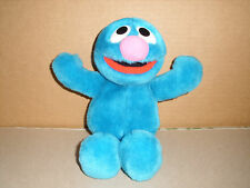 1997 TYCO Sesame Street Character Jim Henson GROVER Plush Stuffed Animal 10""