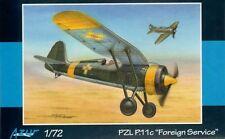 """Azur 1/72 PZL P.11c """"Foreign Service"""" # 115"""