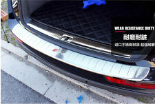Stainless Steel SLine Rear Bumper Door Sill Plate Scuff For Audi Q5 2010-2013