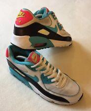 """Mujeres Nike Air Max 90 malla Zapatillas Uk 5 'Vintage Patta raro años 80 años 90 juventud"""""""
