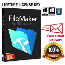 FileMaker Pro 18 Full Version 🔑 LIFETIME LICENSE WIN & MAC 🔥Super Fast Delvery
