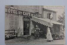 Chambley / Lothringen - Das Gasthaus in Chambley als deutsche Rot-Kreuz-Station