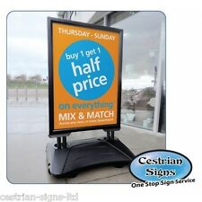 Sightmaster Pro A1 Poster Holder Pavement & Forecourt Sign