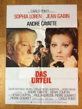 Urteil (Kinoplakat '74) - Sophia Loren / Jean Gabin