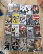 PSP UMD Movies  x 20 new & sealed mixed titles  RRP £50+      (box 62)