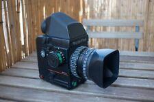 Rolleiflex 6008 y objetivo Rollei 1:2.8 80mm (con batería y cargador originales)