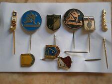 Ice Hockey Pin Badge Yugoslavia Serbia Slovenia 1982 Hk Bask Belgrade Subotica