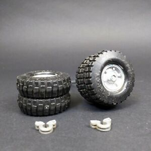 Vintage Ertl Overnite Semi Trailer Dually Axle Tires Pressed Steel Trailer