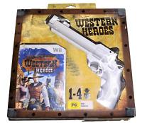 Western Heroes Nintendo Wii PAL *Shop Sealed* Wii U Compatible