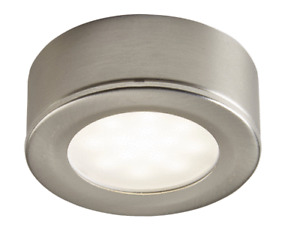 Colours Esmo Brushed Chrome effect Mains-powered LED Under cabinet light IP20 17