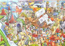 Goliath Wacky World Theme Park 1000 PC Jigsaw Puzzle 68 X 48cm