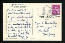 US Naval Ship Cover USS Parker DE-369 Cold War 1962 Postcard San Juan PR