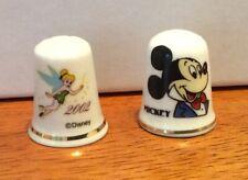 Tinkerbell Mickey Disney Thumbles Bone China England