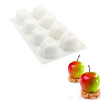 Apple Forme 3D Silicone Moules Cavities Gâteau Mousse Pâtisserie Cuisine Cuisson