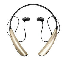 NEW LG Tone Pro HBS-750 Premium Bluetooth 3.0 Headset Unique Gold