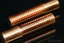 2x cobre-varilla de rosca m10 x1, 75 varilla de cobre electrodo rosca barra puerto