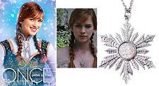 Once Upon A Time pendentif flocon réplique d'Anna OUAT Anna's replica necklace