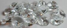 16 Swarovski Crystal Sparkling 2 Hole Octagon Prism Beads Pendant 18mm Art. 8116