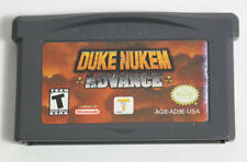 GBA-Duke Nukem Advance (Nintendo Game Boy Advance, 2002)-Authentic-DS Lite