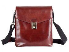 Bosca Old Leather Man Bag - Dark Brown