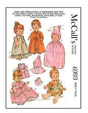 Vintage 1960's McCalls 6993 - Doll Sewing - Baby Pebble 8 to 10 inch dolls, etc