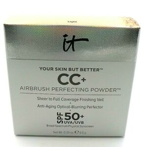 IT Cosmetics Your Skin But Better CC+ Airbrush Perfecting Powder-Light