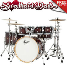 "Gretsch Catalina Maple 6-Piece Shell Pack Drum Kit Deep Cherry Burst 22"""