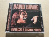 UNPLUGGED & SLIGHLTY PHASED  by DAVID BOWIE  Compact Disc  LFMCD612