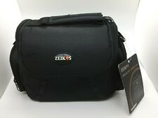 Zeikos ZE-CA48B Deluxe Soft Medium Camera and Video Bag (with accessories)