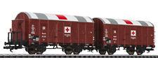 Liliput 230136 SALE WWII Hospital Auxiliary Ambulance Wagon Set DRG Ep.II HO