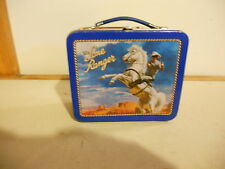 "1998 The Lone Ranger Small Metal Lunchbox 5"" Tall"