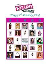 Wizards of Waverly Place Birthday Party Game Bingo