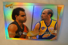 AFL - Head 2 Head Card - Essendon- Michael Long / West Coast - Peter Matera.