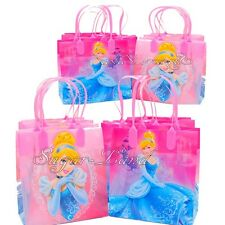 12 Disney Princess Cinderella Party Favor Bags Goodie Loot Tote Candy Treats