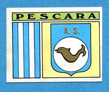 CALCIATORI PANINI 1971-72-Figurina-Sticker ADESIVO n. 80a -PESCARA SCUDETTO-Rec