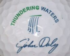 JOHN DALY THUNDERING WATERS  SIGNATURE LOGO GOLF BALL